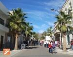 Avenida Ferderico García Lorca en Níjar
