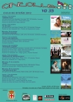 Cineclub VO 35 CARTEL ciclo de otoño 2012 -Almería