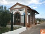 Estación de ferrocarril en Vía Verde Lucainena de las Torres