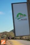Ciclista en Vía Verde Lucainena de las Torres