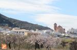 Lucainena desde la Vía Verde