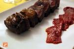 Carne de buey en Pimienta Rosa - Almería