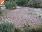 terreno tras las lluvias en Vía Verde Lucainena de las Torres