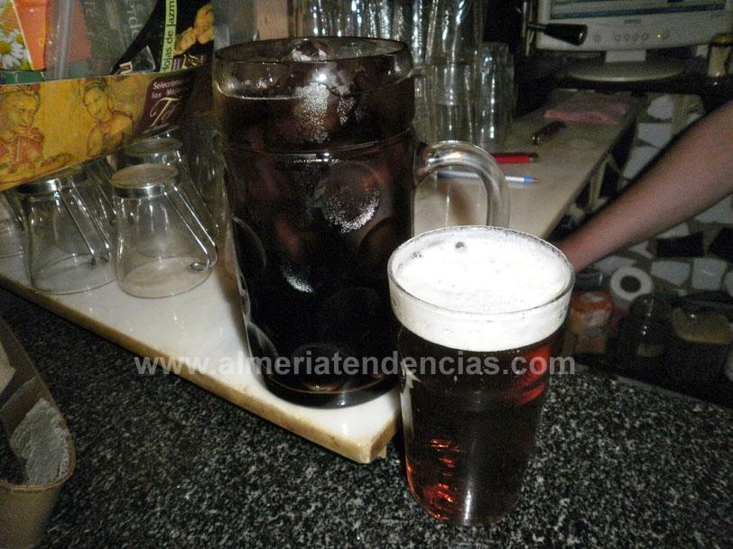 Super calimocho en pub ConGarra