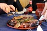 Carne en camping de Las Menas de Serón, Almería