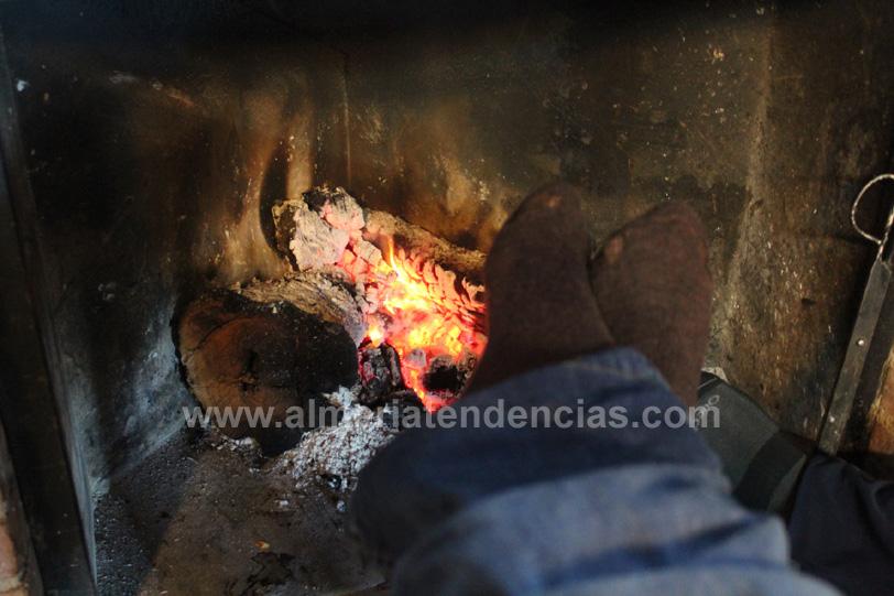 La chimenea del camping de Las Menas de Serón, Almería