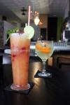 Cócteles y gin tonic en Lila's Café