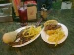 Tapas de carne en bar Juan Rueda, Rioja (Almería)