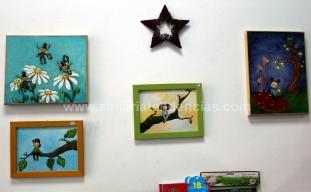 pinturas infantiles en Coco el Caracol