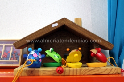 juguetes de madera en Coco el Caracol