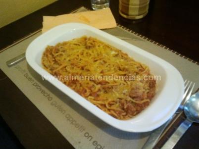 espagueti a la boloñesa - Tramonto da Massimiliano