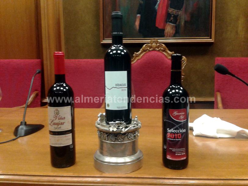 Los tres mejores vinos de Almería 2012