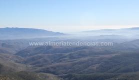 Almería vista desde Los Filabres