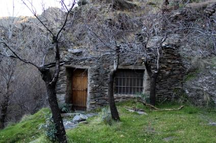 Viejo molino rehabilitado cerca de Bacares