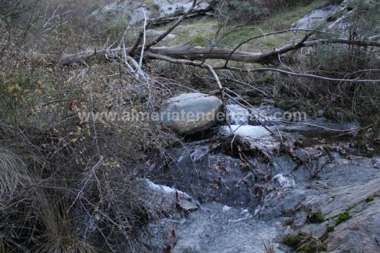 Río en Bacares