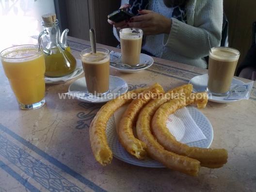 cafés y zumos en El Jardín