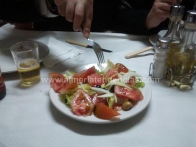 ensalada en Sierra Alhamilla