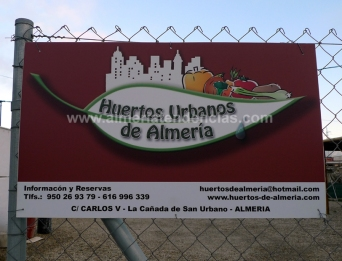 Entrada Huerto Urbano