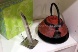 Tetera roja en Quiere-té