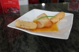 Saquito de queso con miel de Filabres en Nuestra Tierra
