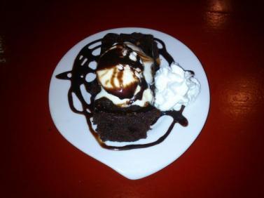 Bronwnie de chocolate en Sicrería vente pal norte
