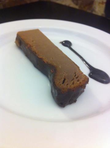 Tarta de queso con chocolate en Pimienta Rosa