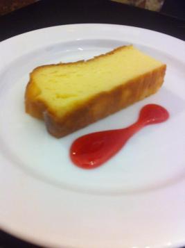 Tarta de queso en Pimienta Rosa