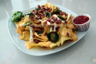 Nachos Five en Urban Diner