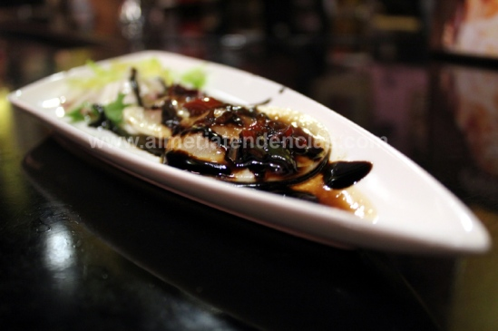 ravioli de foie en bar La Mala