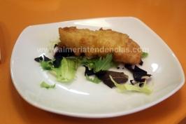 Bacalao en tempura Dond'Elio