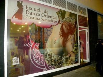 Escuela de danza oriental Cristina Samaniego