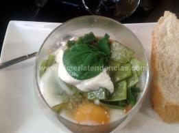 Huevo y Verduras