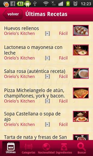app cocina sin lactosa vídeo