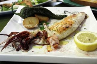 Calamar para compartir en Rincón Cofrade
