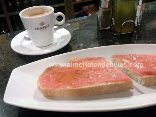 tostada en Rincón Cofrade