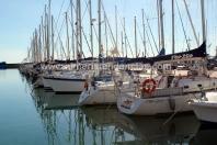 Vistas puerto deportivo desde terraza La Soleá Almerimar