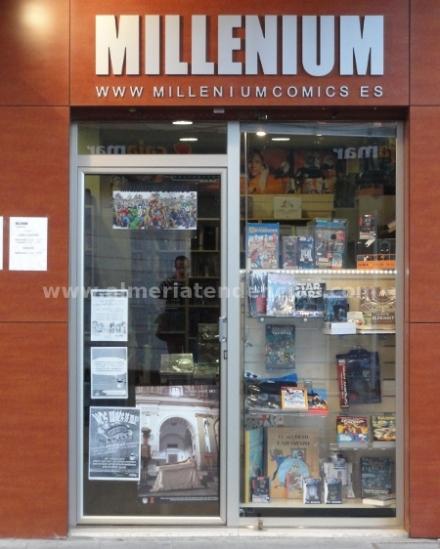 Entrada Millenium Comic Almería