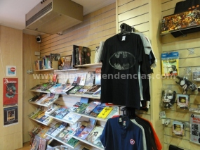 camisetas en Millenium Cómic Almería