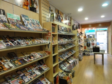 interior 2 Millenium Cómic Almería