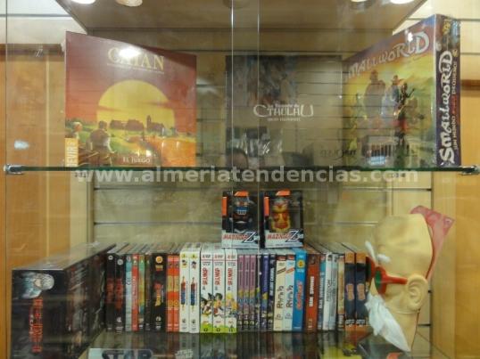 DVD y juegos de autor en Millenium Cómic Almería