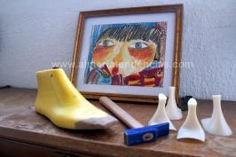 bodegón improvisado en el estudio de Moli Moli