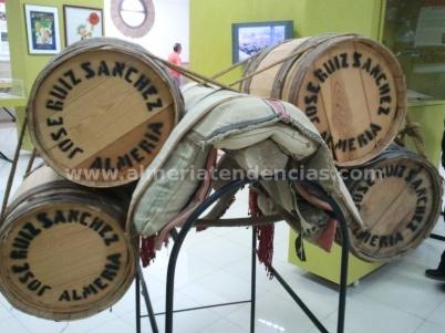 Aperos para cargar barriles en Museo Terque