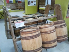 Barriles museo de la uva Terque