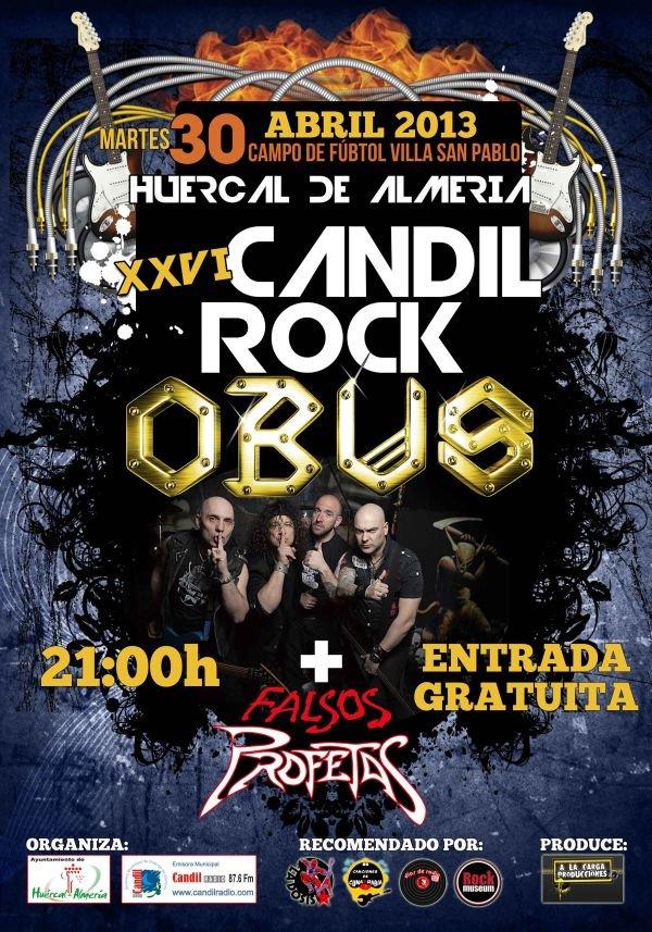 Obus - Candil Rock 2013 - Huércal de Almería