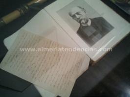 Carta Nicolás Salmerón en Museo Terque