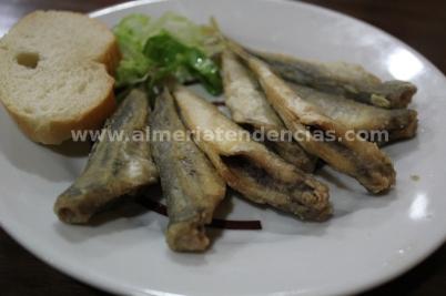Más pescado en La Raspita