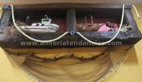 decoración marinera en La Raspita