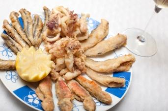 Fritura pescado del Montenegro - AOVE