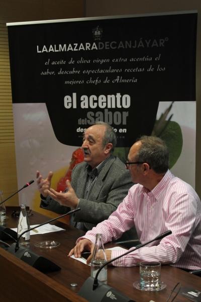 Antonio Zapata y Manuel Calvache, de Almazara de Canjáyar