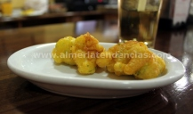 Buñuelos de Bacalao en Taberna Sacromonte